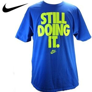 "Mens Nike ""Still Doing it"" Graphic T-Shirt"